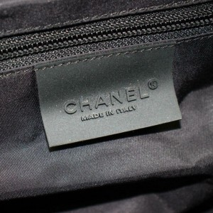 Chanel Duffle Bicolor Sports Boston 870706 Black Nylon Weekend/Travel Bag