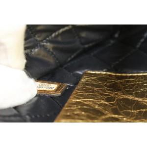Chanel Ultra Rare Votez Coco Gold O-Case Clutch Bag 862828