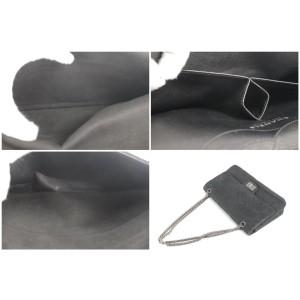 Chanel Handbag Classic Flap 2.55 Reissue Jumbo Soft Caviar 17ck1207 Black Leather Cross Body Bag