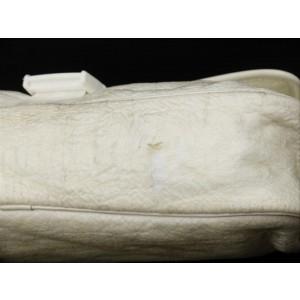 Chanel Ivory Sports Logo Jumbo Classic Flap Crossbody Bag 211857