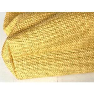 Chanel Hobo Handbag Straw Wicker Cc Shopper Tote 7ca527 Beige X Brown Raffia Weekend/Travel Bag