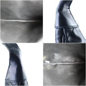 Chanel Hobo XL Quilted 220699 Black Leather Shoulder Bag