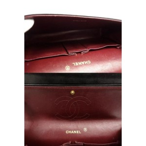 Chanel Black Medium Quilted Lambskin Mademoiselle Classic Flap 234R110