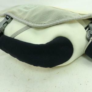 Chanel Messenger Cc Sports Logo 871236 White Nylon Cross Body Bag