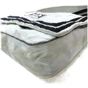 Chanel Silver Sports Logo CC Messenger 858909