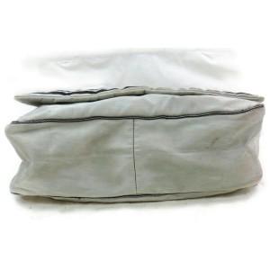 Chanel Messenger Silver Sports Logo Cc 871909 Gray Nylon Cross Body Bag