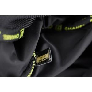 Chanel Black Sports Logo CC Messenger Crossbody 303ccs217