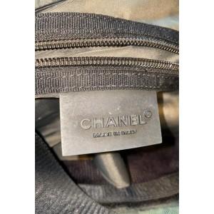 Chanel XL Khaki CC Log Sports Messenger 857870