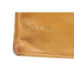 Chanel Mustard Yellow Caviar Leather CC Logo Flap Wallet 791ccs42