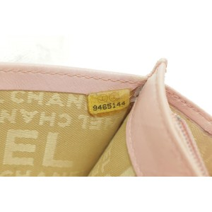 Chanel Camellia Quilted Wallet Case Pink Ginza Limited 235859