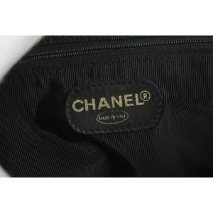 Chanel Quilted Pocket Tote 9ck1220 Black Vinyl Shoulder Bag
