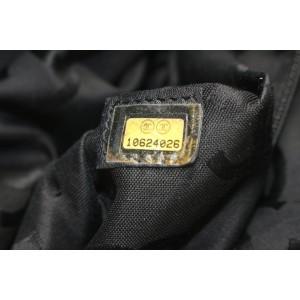 Chanel Navy Blue Raffia Straw CC Turnlock Chain Tote Bag 888cas413