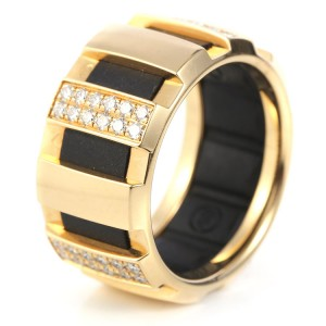 Chaumet Class One 18K Yellow Gold Diamond Ring