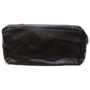 Chloé 871997 Eclipse Dark Brown Leather Tote