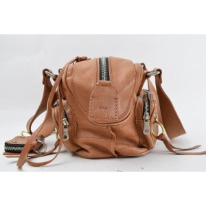 Chloé Betty 865632 Brown Leather Shoulder Bag