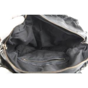Chloé Black Leather Silverado Boston Bag 408chloe31
