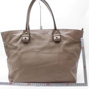 Chloé Chloé Large Zip Shopper Tote 869608 Brown Leather Shoulder Bag