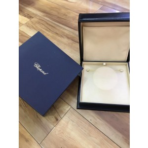 Chopard 18K White Gold Happy Diamond Icon Necklace 793086