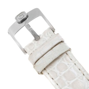 Chopard Happy Sport 278949-3001 Stainless Steel & White Strap Quartz 32mm Womens Watch
