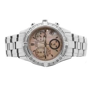 Citizen Eco Drive WR 100 Chronogrpah Diamond Bezel Watch
