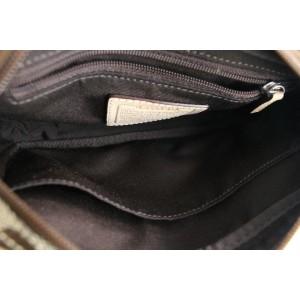 Coach Waist Monogram Logo Belt Pouch 5mr0625 Beige Coated Canvas Cross Body Bag