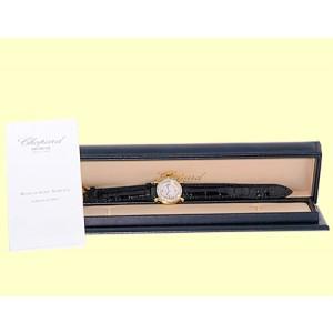 Chopard Happy Sport 18K Yellow Gold Diamond Dresswatch Womens Watch