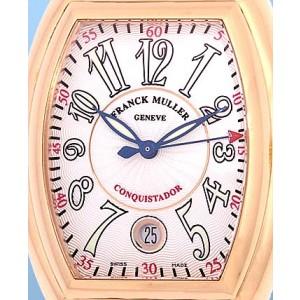 """Franck Muller 18K Rose Gold """"Conquistador"""" Strapwatch"""