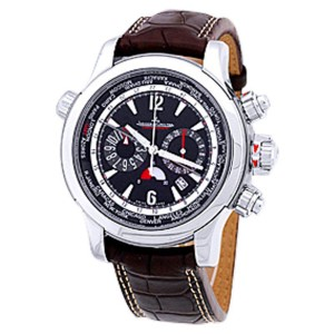 "Jaeger LeCoultre Master Compressor ""Extreme World"" Chronograph Stainless Steel Mens Watch"