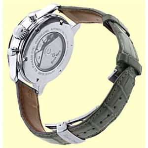 "Ernst Benz ""Chrono-Jewel"" Chronograph Stainless Steel Mens Strap Watch"