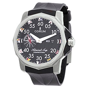 Corum Admirals Cup Tides 48 Titanium Competition Mens Watch