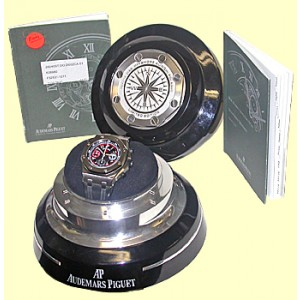 "Audemars Piguet ""Royal Oak Offshore Polaris"" Chronograph Stainless Steel Strap Watch"