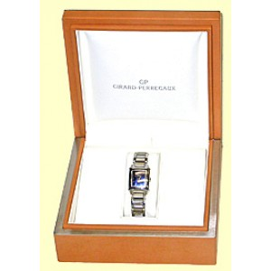 "Girard Perregaux Stainless Steel ""Vintage 1945"" Womens Watch"