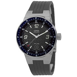 "Oris ""Williams F1 Team Day-Date"" Stainless Steel Watch"