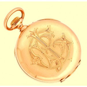 Vacheron Constantin 14K Rose Gold Vintage Pocket Watch