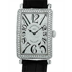 Franck Muller Long Island Iceland 1150 SC DT 18K White Gold and Diamond Watch