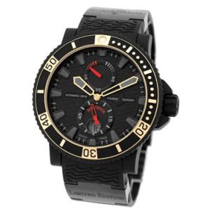 Ulysse Nardin Maxi Marine Diver Boutique Titanium & Black Rubber Mens Watch