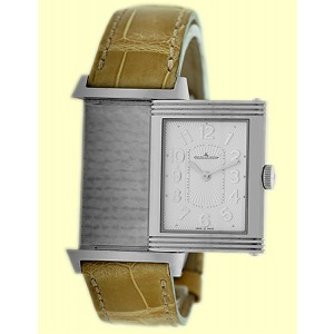Jaeger LeCoultre Grande Reverso Ultra Thin 320.84.20 Stainless Steel Womens Strap Watch