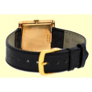 """Audemars Piguet  """"Classique"""" Tank 18K Rose Gold Vintage Strap Watch"""