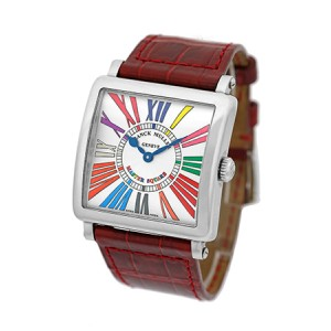 Franck Muller Master Square Color of Dreams Stainless Steel Womens Watch
