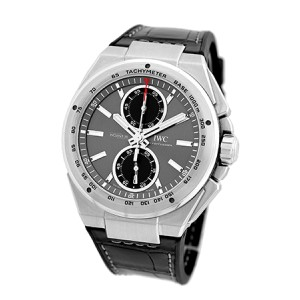 "IWC ""Ingenieur Chronograph Racer"" Stainless Steel Automatic Mens Strap Watch"