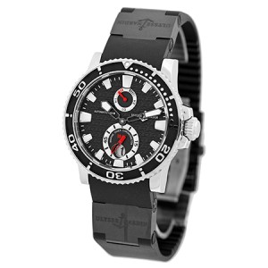 Ulysse Nardin Marine Diver Stainless Steel Strap Mens Watch