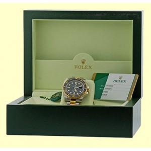 "Rolex ""Submariner"" Stainless Steel & 18K Yellow Gold Watch"