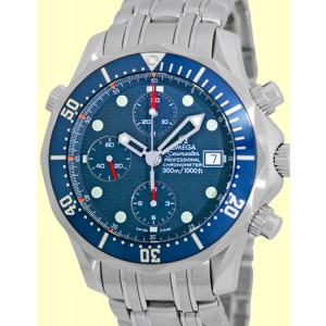 Omega Seamaster Professional Stainless Steel Automatic Chronograph 41.5mm Watch