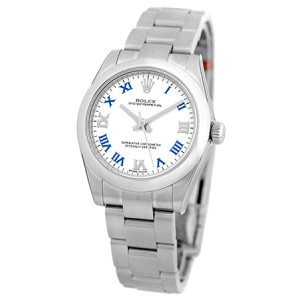 """Rolex """"Oyster Perpetual"""" Stainless Steel Automatic 31mm Unisex Watch"""