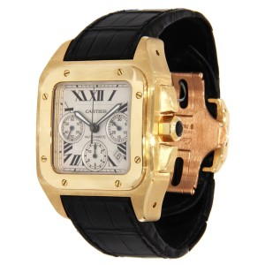 Cartier Santos 100 42mm Mens Watch