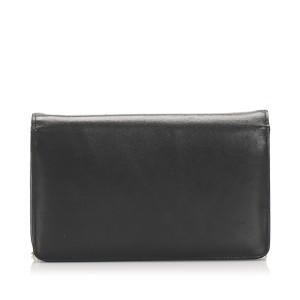 Leather Chain Crossbody Bag