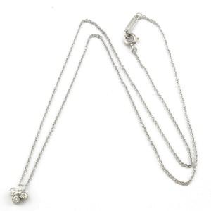 TIFFANY&Co. Platinum Diamond Flower flower Necklace