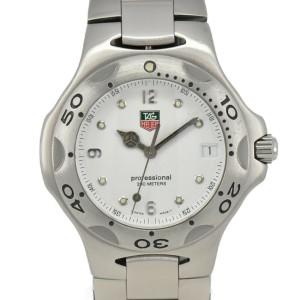 TAG HEUER Kylium WL1110 Professional 200M White Dial Quartz Men's Watch