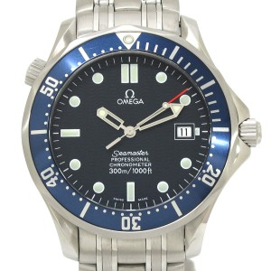 Omega Seamaster Pro 300 Stainless Steel Automatic 41mm Men's Watch