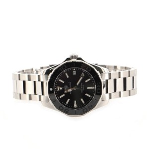 Tag Heuer Aquaracer Quartz Watch Stainless Steel and Ceramic with Mother of Pearl 35